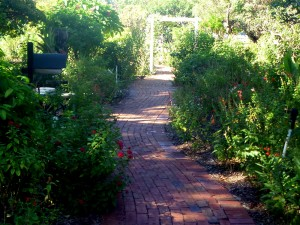 Honor Bricks in the Gardens Sarasota Garden Club